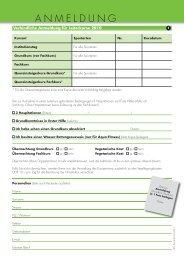 2010-AnmeldungsKarten 2 - Pro Senectute Kanton Bern