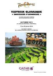 VIETNAM CLASSIQUE - Voyages à rabais