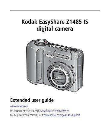 kodak easyshare z8612 is digital camera radio shack rh yumpu com Kodak EasyShare Camera User Guide Kodak EasyShare C1530 Users Manual