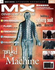 coldfusion - sys-con.com's archive of magazines - SYS-CON Media