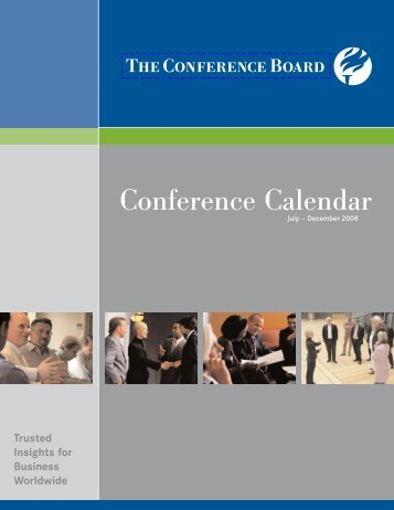 Conference Calendar - The Conference Board