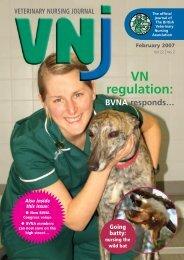VN regulation: - British Veterinary Nursing Association