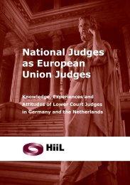 National Judges as European Union Judges - HiiL