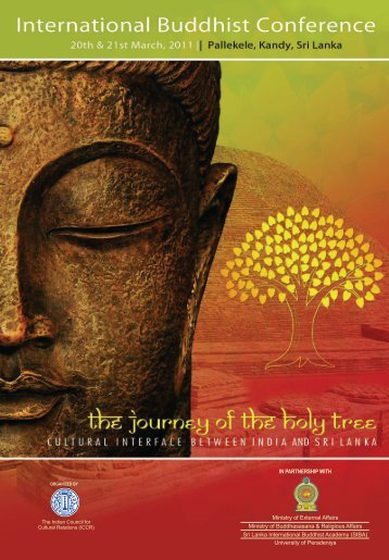 Papers presented at the International Buddhist Conference, March ...