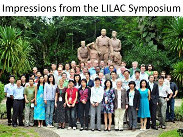 Impressions from the LILAC Symposium