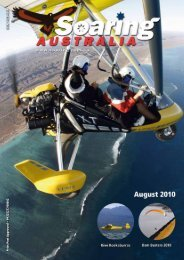 August - Hang Gliding Federation of Australia