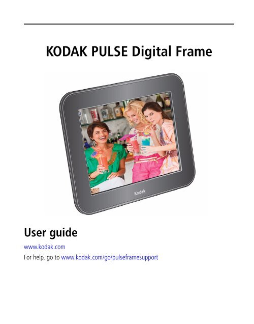 Kodak Pulse Digital Frame