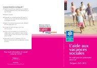 Aide aux vacances sociales - Caf.fr