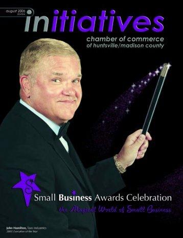August 2006 - Huntsville/Madison County Chamber of Commerce