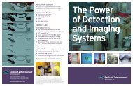 Detection & Imaging Systems - Endicott Interconnect