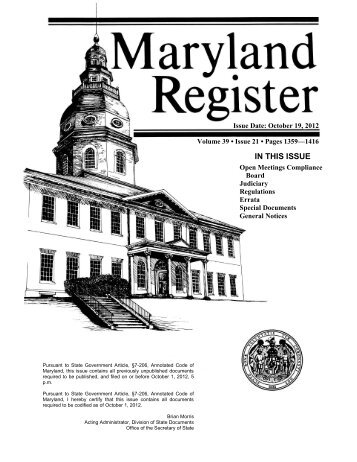 Volume 39 Issue 21 - October 19, 2012 - the Division of State ...