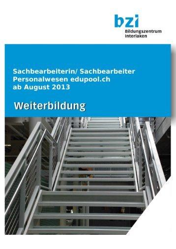 Dokumentation_Personalwesen - Bildungszentrum Interlaken