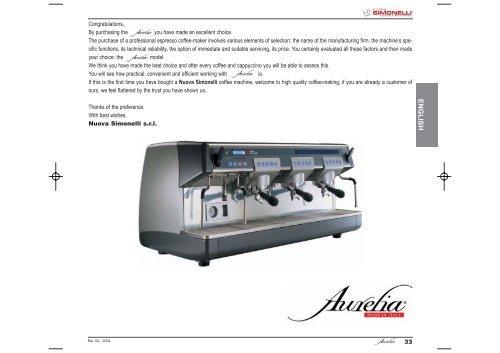 Auralia - Instruction Manual.pdf - Nuova Simonelli