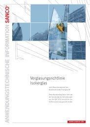 SANCO Verglasung RZ 10_2007 - Glas Porschen GmbH