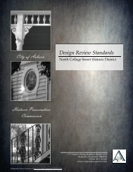 North College Historic District Design Review ... - City of Auburn