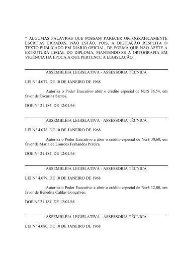 Leiord1968 - Assembléia Legislativa do Estado do Pará - Governo ...