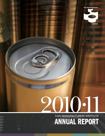 ANNUAL REPORT - Can Central