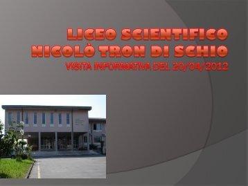 Liceo Scientifico - Benvenuti nel sito dei ragazzi della Scuola Media!