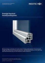 Prestige klassisch Fensterprofilsystem - Inoutic
