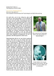 Fachtagung Umwelt bildet Prof. Dr. Dr. Manfred Spitzer Wie lernt das ...