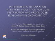 deterministic 3d radiation transport simulation for dose distribution ...