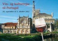 Vin- og kulturrejse til Portugal - Jesper Hannibal