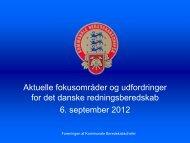 Aktuelle fokusområder og udfordringer for det danske ... - primo