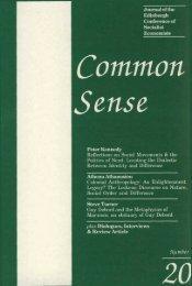 Download issue 20 - Common Sense