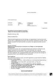 Bewonersbrief uitnodiging inschrijving digitale ... - Gemeente Herent
