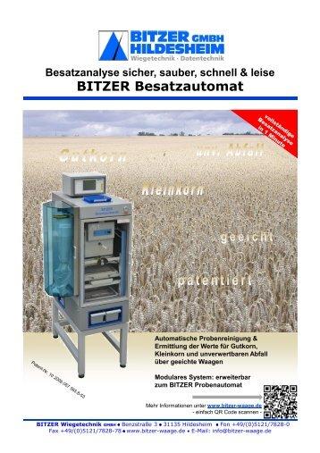 Besatzautomat - Bitzer Wiegetechnik GmbH