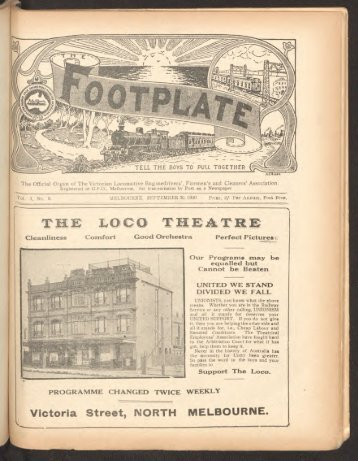 The Footplate: vol. 3, no. 9 (September, 1920)