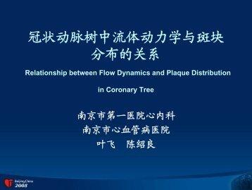 冠状动脉树中流体动力学与斑块分布的关系 - Citmd.com