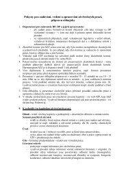 Pokyny pro zadávání, vedení a zpracování závěrečných ... - UJEP