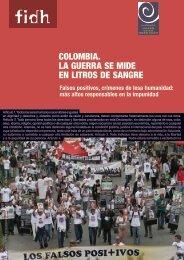 colombia. la guerra se mide en litros de sangre - Colectivo de ...