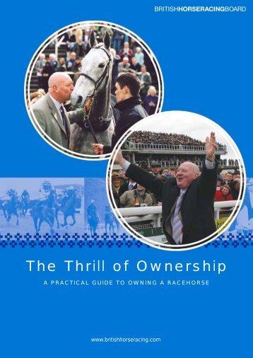 The Thrill of Ownership - British Horseracing Authority