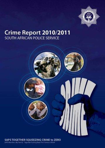 CRIME REPORT 2010 /2011 - Institute for Security Studies