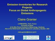 Diapositive 1 - European Topic Centre on Air Pollution and Climate ...