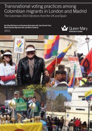 Transnational voting practices among Colombian migrants in ...