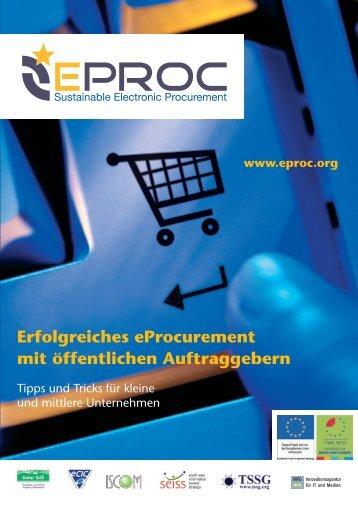 Erfolgreiches eProcurement mit öffentlichen Auftraggebern