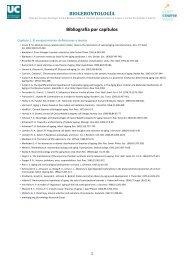 Bibliografía por capítulos - OCW Universidad de Cantabria