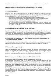 FAQ Schutzfrist - Zur Information der Arbeitgeber durch die IV-Stelle