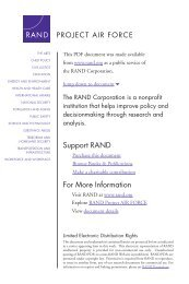 Risking NATO - RAND Corporation