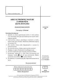 arkusz próbnej matury z operonem język rosyjski - Gazeta.pl