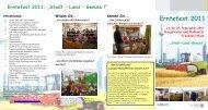 """""""Stadt-Land-Genuss"""" Erntefest 2011 - erntefest-ffm.de."""