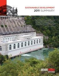 summary report - Ontario Power Generation