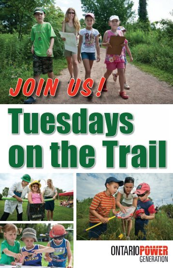 Join Us! Tuesdays on the Trail