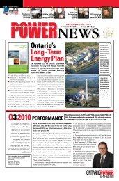 December 10 - Ontario Power Generation