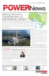 September 14 - Ontario Power Generation
