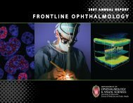 FRONTLINE OPHTHALMOLOGY - University of Wisconsin ...