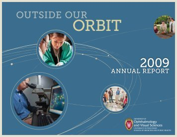 Annual Report 2009 - University of Wisconsin Department of ...